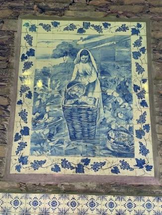Tiles at Quinta da Foz